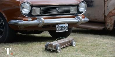 La pasión por los autos antiguos y modificados se amplía en la región. (Fotos Ricardo Stinco)