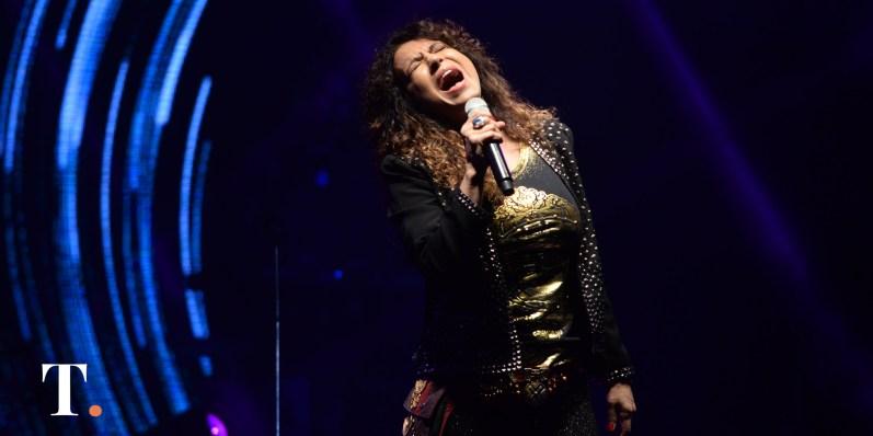 """""""Soy una rocker que canta lo que se le da la gana"""", aseguró antes del show."""