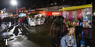Marcha contra el tarifazo en Villa Gesell