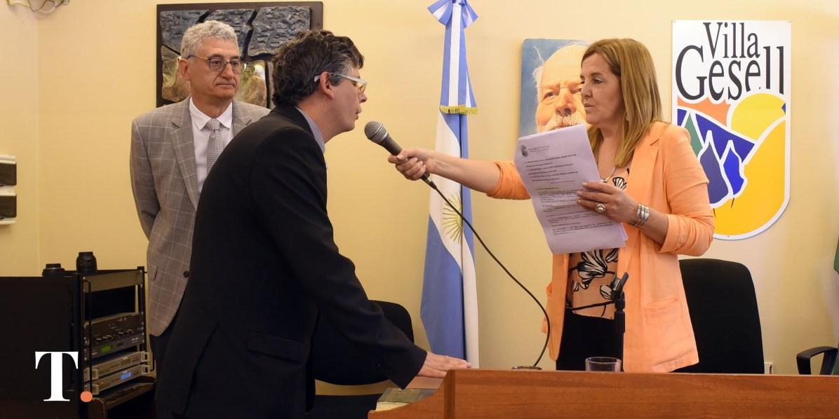 Carlos Green, concejal de Juntos por el Cambio (Fotos Ricardo Stinco).