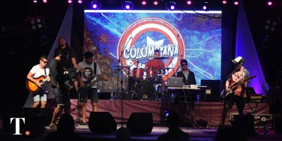 El show apertura del festival estuvo a cargo de Colombiana. (Fotos Ricardo Stinco)