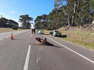 Ruta 11 incidente vial zona Carilo junio 2020