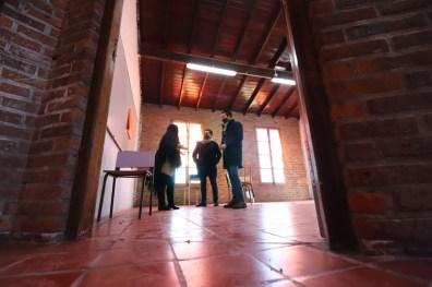 el intendente Cristian Cardozo recorrió la Escuela Secundaria Nº 4 de San Bernardo