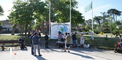 La tarde en la ciudad de Villa Gesell en la que se conmemoró un nuevo 21 de noviembre.