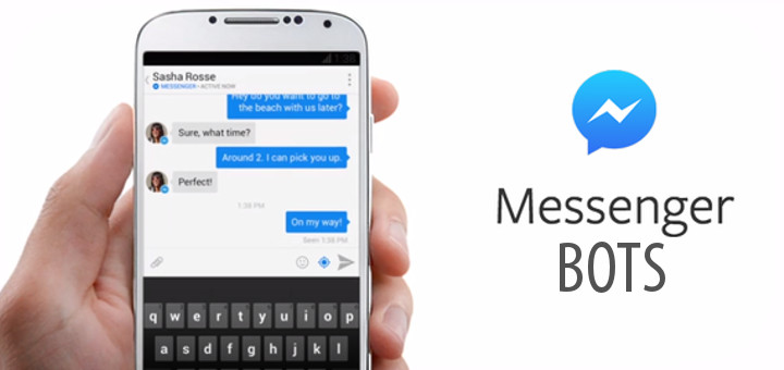 Image result for Facebook Messenger Bots