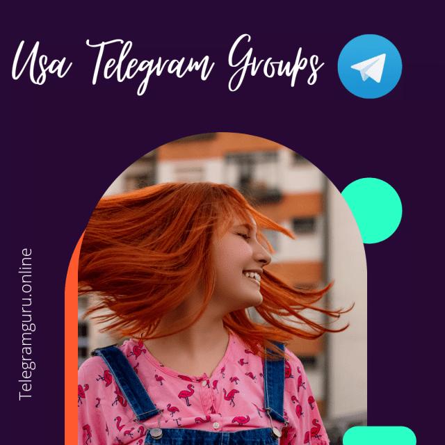 Usa Telegram groups