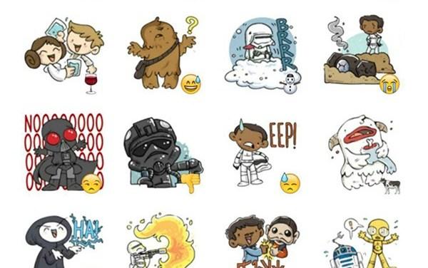 Star Wars sticker pack Collection