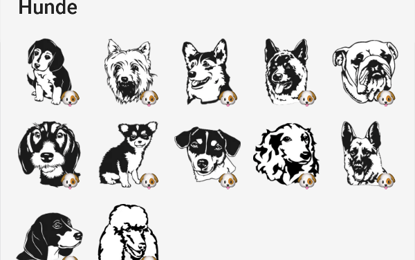 Dogs sticker pack