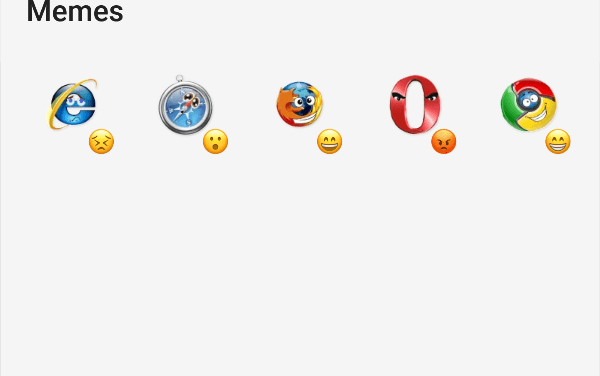 Browser memes sticker pack