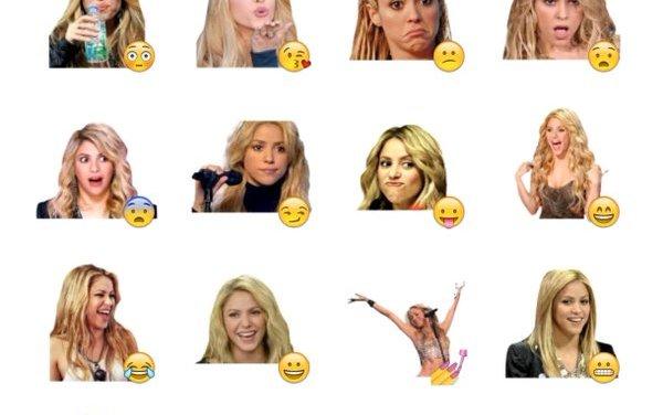 Shakira Sticker Pack
