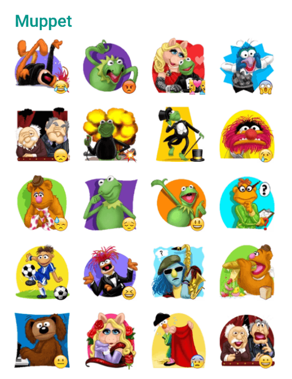 muppets-sticker-pack