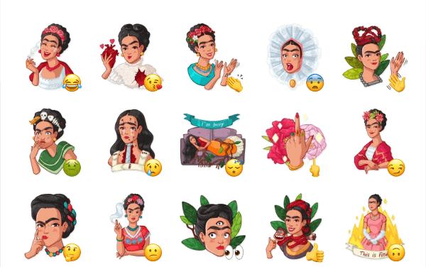 Frida Kahlo Sticker Pack