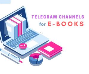 Telegram Channels for ebooks pdf