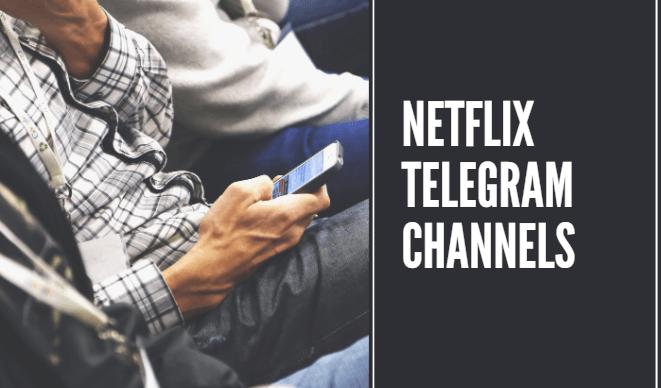 Netflix Telegram Channels 1