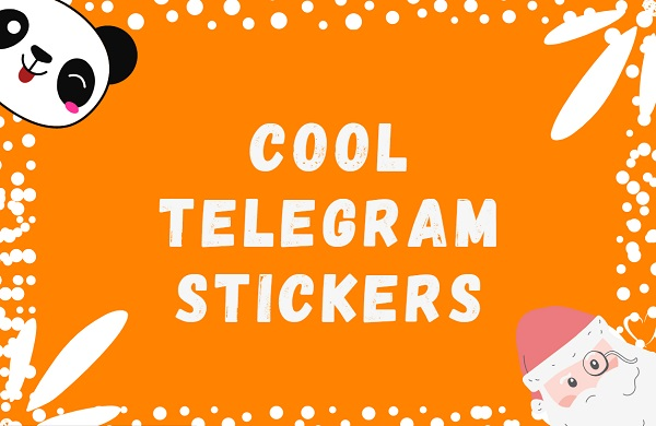 cool telegram stickers pack