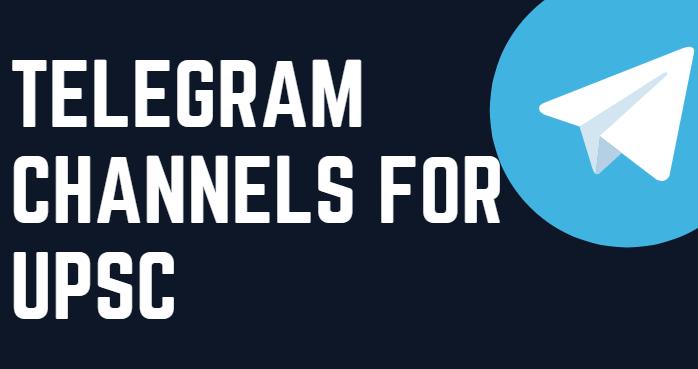 Telegram Channels for UPSC