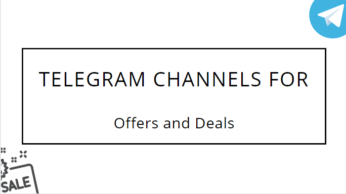 Telegram Channels for offers and deals 5