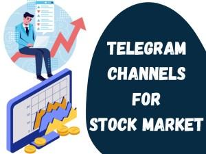 31+ Best Telegram Channels For Stock Market In 2021