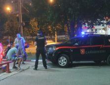 Șofer beat criță stopat de carabinieri pe o stradă din capitală