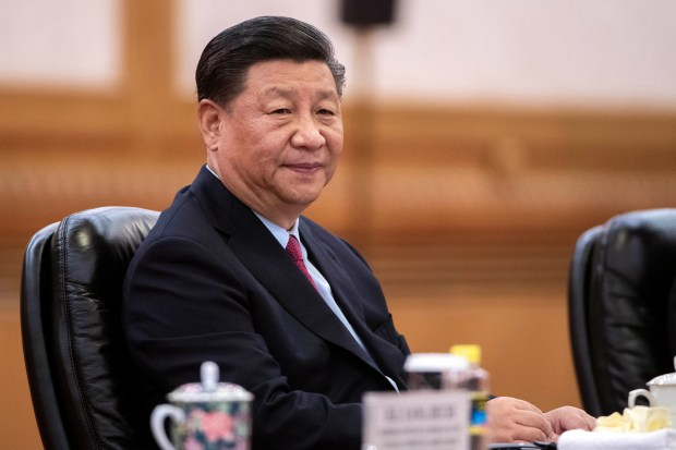 Chinese President Xi Jinping meets Ugandan President Yoweri Museveni (not pictured) at the Great Hall of the People in Beijing, China, June 25, 2019.
