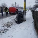 Accident rutier Podoleni femeie accidentata