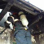 Incendiu locuinta Banha pompieri