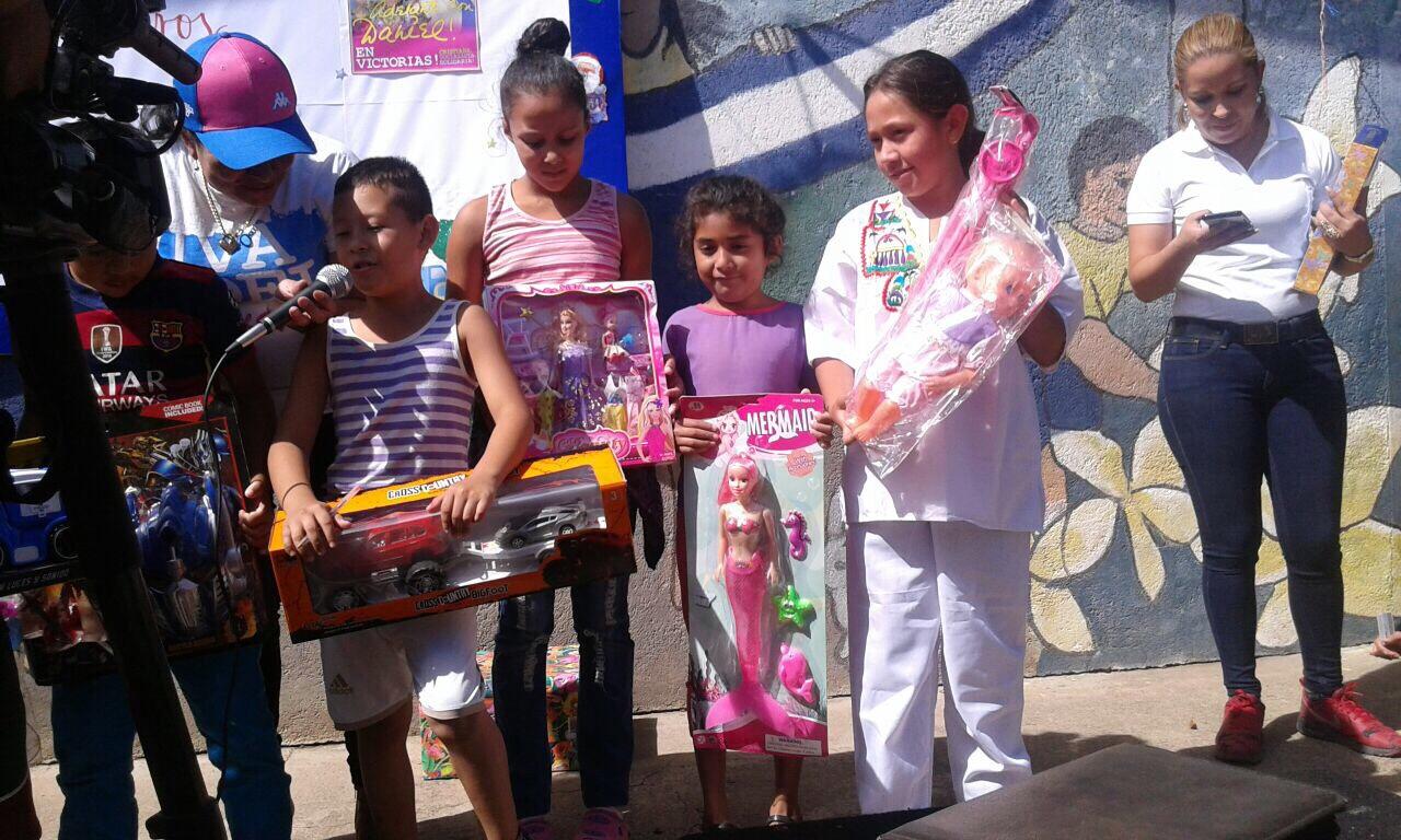 Ministerio de Educación, distribuyó juguetes en Estelí