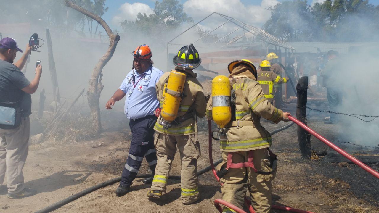 Investigan causas de incendio en bodega de Estelí.
