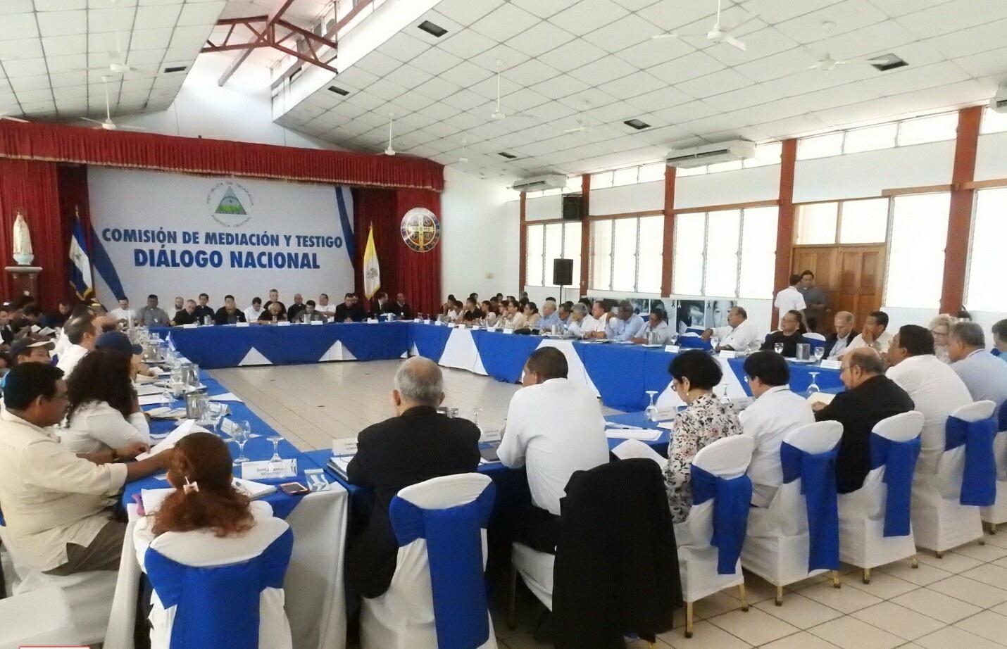 Diálogo acuerda implementar recomendaciones de la CIDH