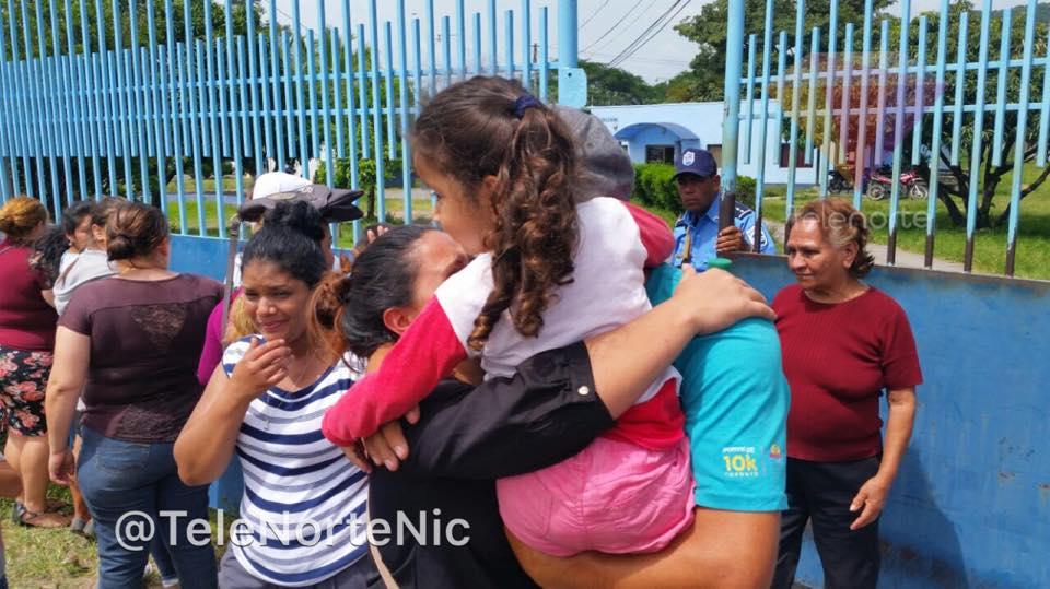 Liberan a 11 triniteños que estaban detenidos en Estelí