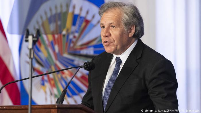 Almagro: OEA puede invocar Carta Democrática por crisis en Nicaragua