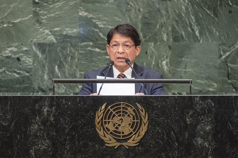 El Gobierno de Nicaragua dice en la ONU que ha resistido a un golpe de Estado
