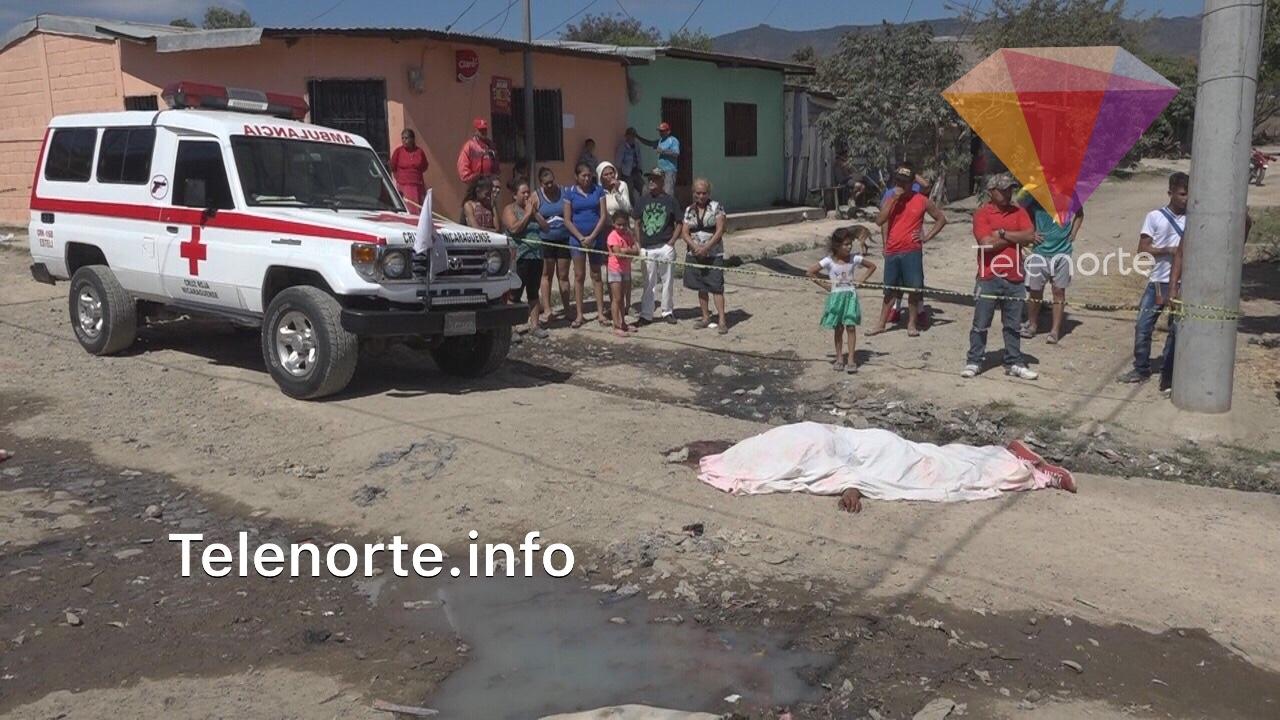 Matan de una puñalada a ex reo en Estelí