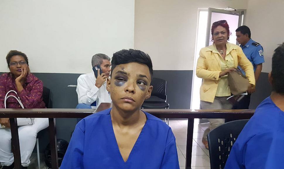 Persecución policial en Managua dejó dos detenidos que fueron acusados por robo agravado