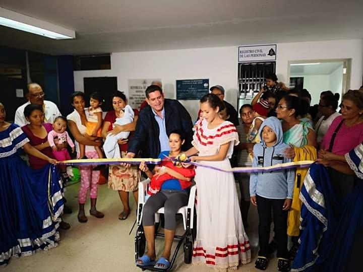 Inauguran oficina de Registro Civil en Hospital Escuela San Juan de Dios de Estelí.