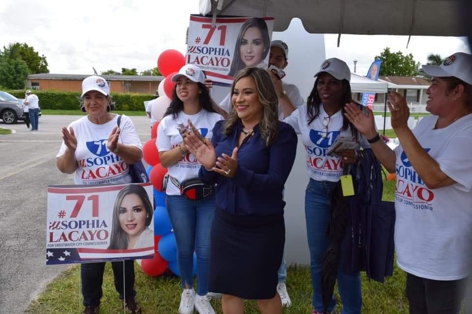 Lacayo se convierte en la primer nicaragüense en asumir un cargo electo, en EEUU.