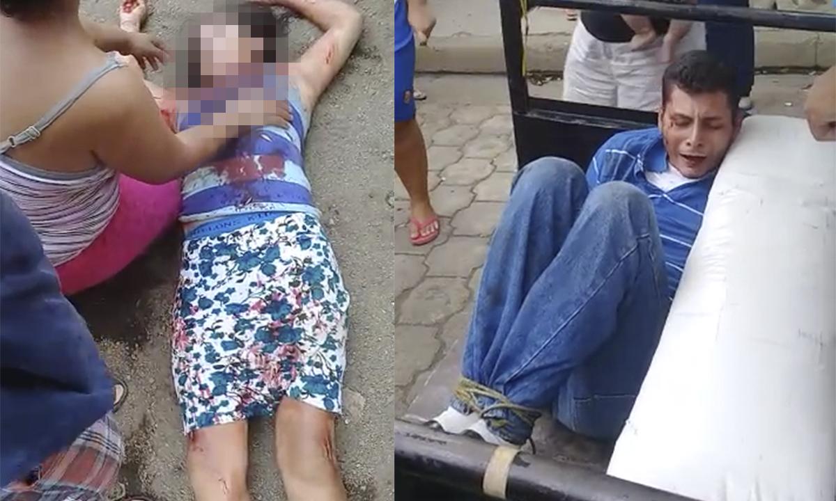 Acusan a hombre por femicidio frustrado de su expareja.