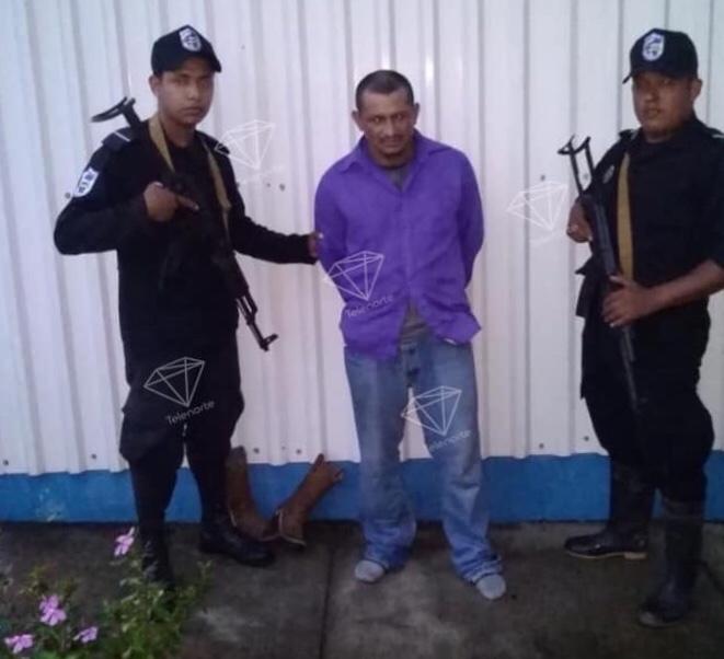 Capturan al presunto autor de doble crimen en La Trinidad, Estelí.