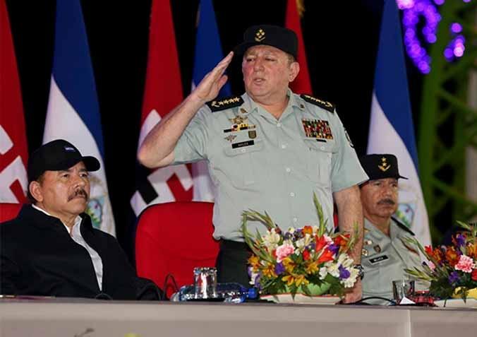 Extienden mando al jefe del ejército de Nicaragua.