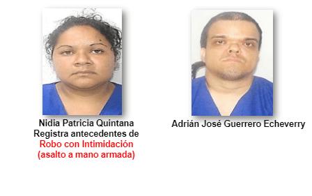 Capturan a presunto parricida y su cónyuge por matar a su padres.
