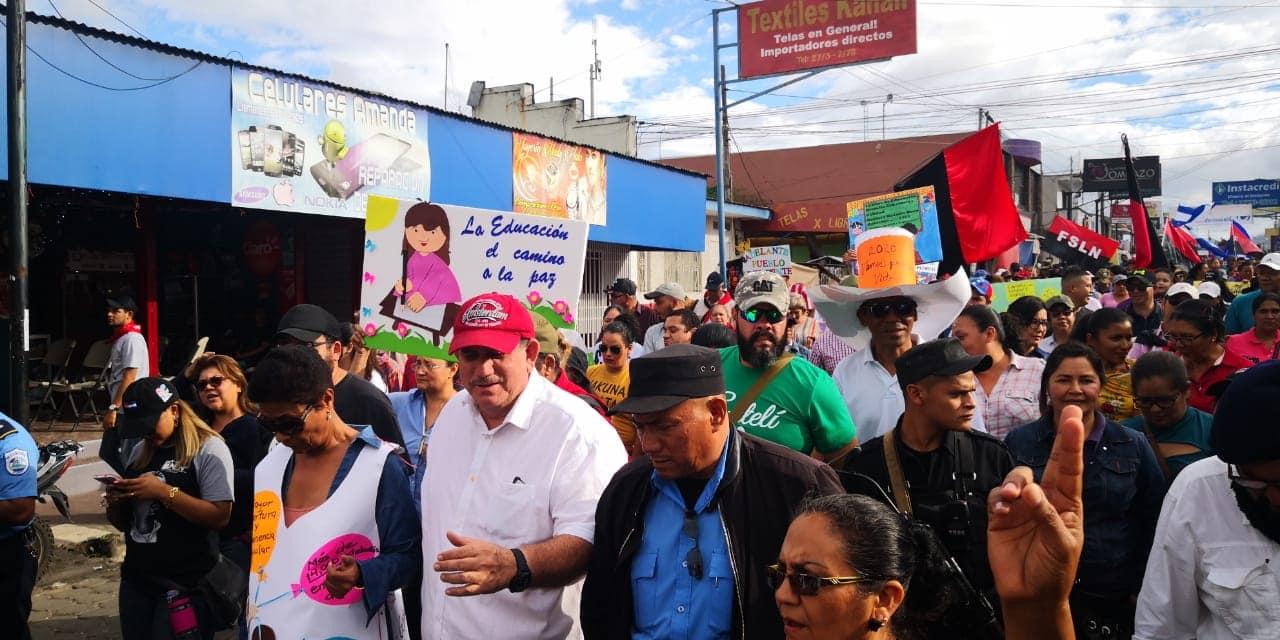 Celebran 13 años del Gobierno de Ortega en Nicaragua