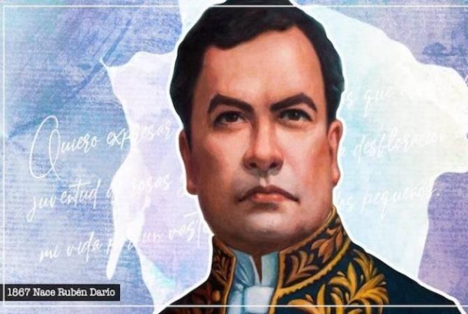 Gobierno de Nicaragua conmemora el aniversario 153 del nacimiento de Rubén Darío