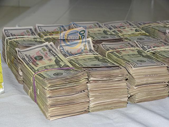 Más de 500 mil dólares incautados en Rivas.