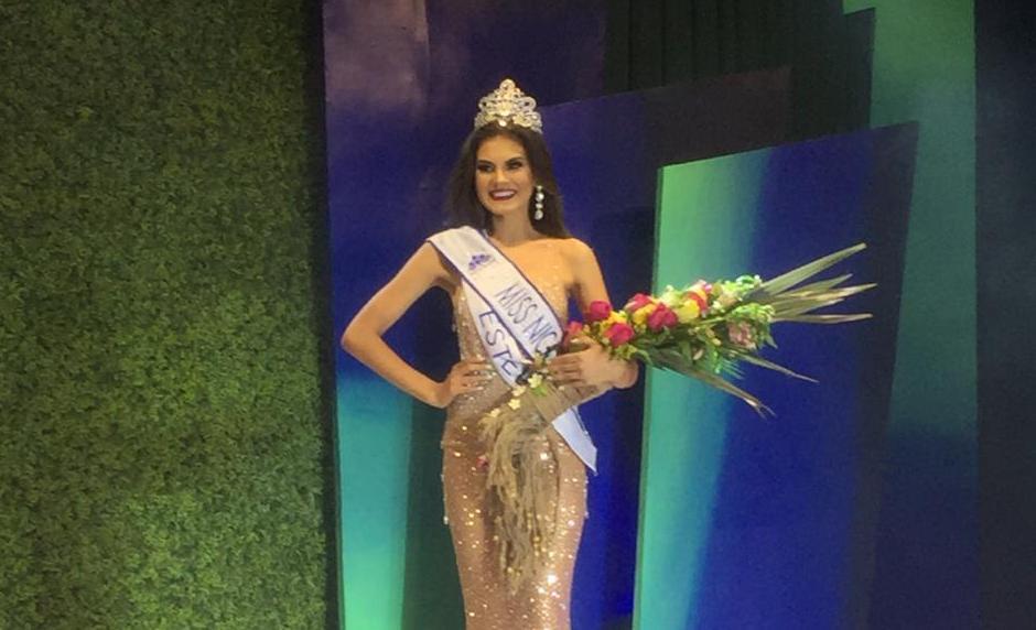 Ana Marcelo, de Estelí, gana Miss Nicaragua 2020.