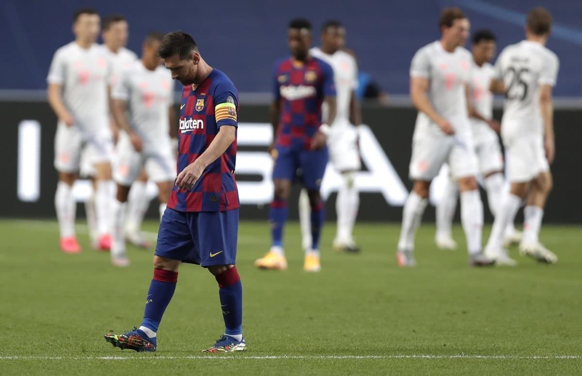 Barcelona recibió la peor goleada de su historia en Champions