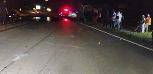 Tres personas fallecidas por accidentes de tránsito en Nicaragua