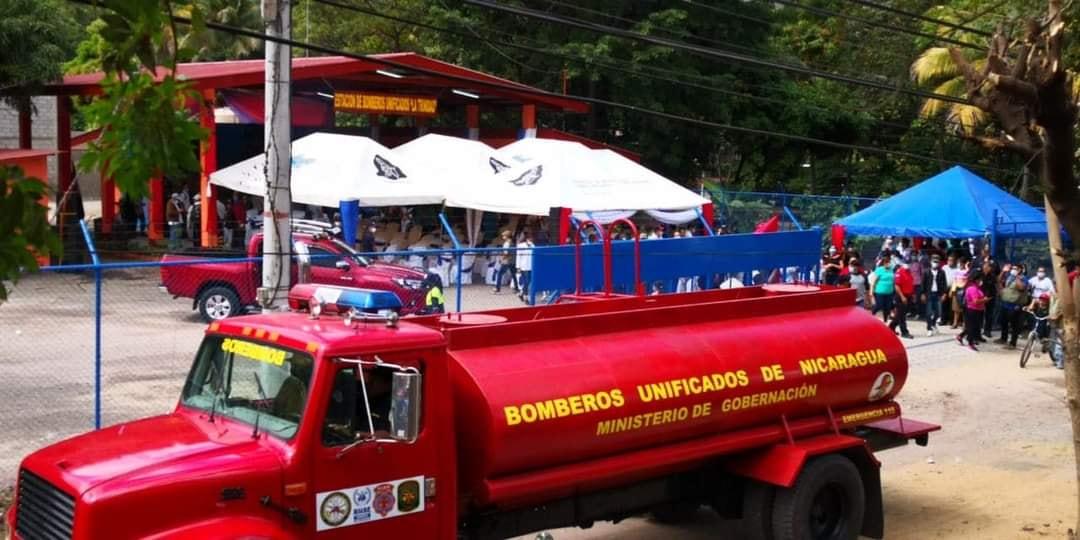 Inauguran estación de Bomberos en La Trinidad-Estelí