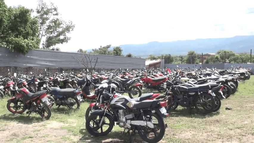 Ya pueden retirar sin ningún costo las motocicletas retenidas en Estelí