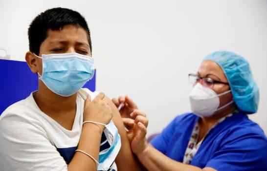 El Salvador comienza a vacunar contra la covid a menores de entre 6 y 11 años