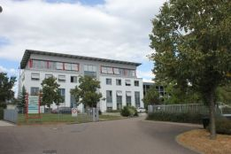 Firmenzentrale der Telenot Electronic GmbH in Aalen im Ostalbkreis